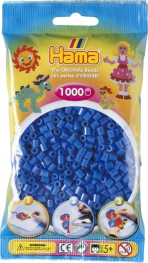 HAMA BEADS MIDI 1000 AZUL CLARO (COLOR 09)