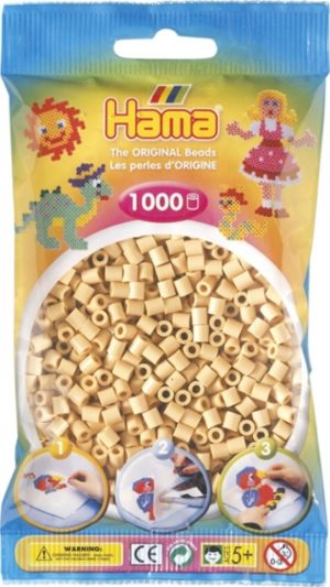 HAMA BEADS MIDI 1000 BEIGE (COLOR 27)
