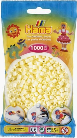 HAMA BEADS MIDI 1000 CREMA (COLOR 02)