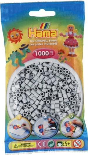 HAMA BEADS MIDI 1000 GRIS CLARO (COLOR 70)