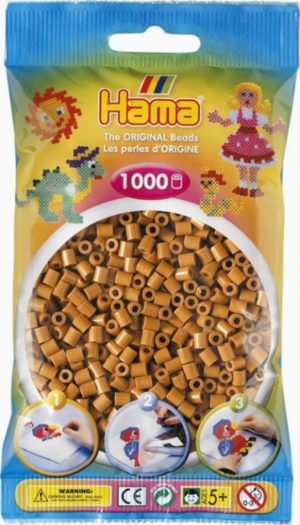 HAMA BEADS MIDI 1000 MARRON CLARO (COLOR 21)