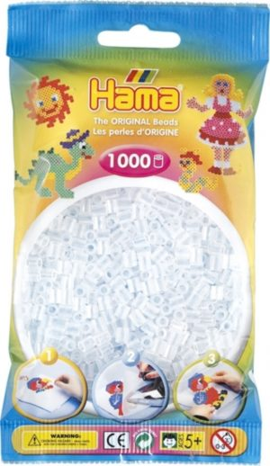 HAMA BEADS MIDI 1000 TRANSPARENTE (COLOR 19)