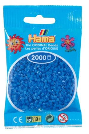 HAMA BEADS MINI 2000 AZUL CLARO (COLOR 09)