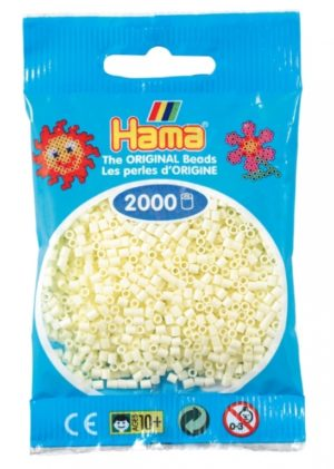 HAMA BEADS MINI 2000 CREMA (COLOR 02)