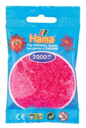 HAMA BEADS MINI 2000 FUCSIA NEON (COLOR 32)