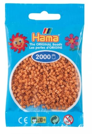 HAMA BEADS MINI 2000 MARRON CLARO (COLOR 21)