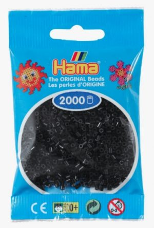 HAMA BEADS MINI 2000 NEGRO (COLOR 18)