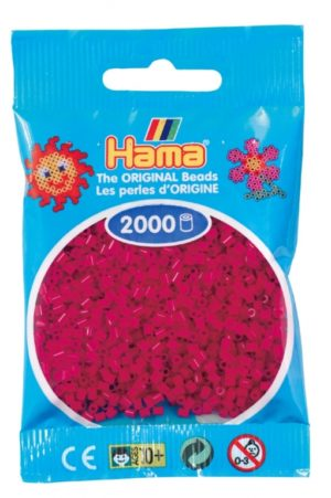 HAMA BEADS MINI 2000 ROJO GRANATE (COLOR 29)