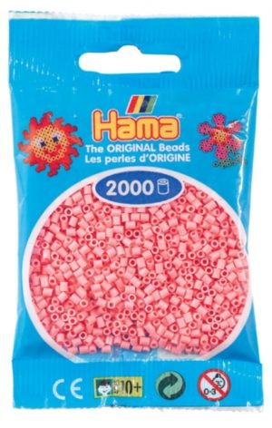 HAMA BEADS MINI 2000 ROSA (COLOR 06)