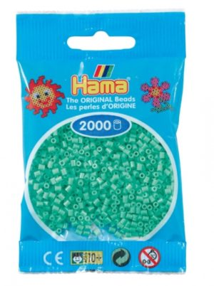 HAMA BEADS MINI 2000 VERDE CLARO (COLOR 11)