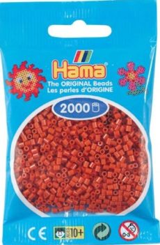 HAMA BEADS MINI 2000 MARRON ROJIZO (COLOR 20)