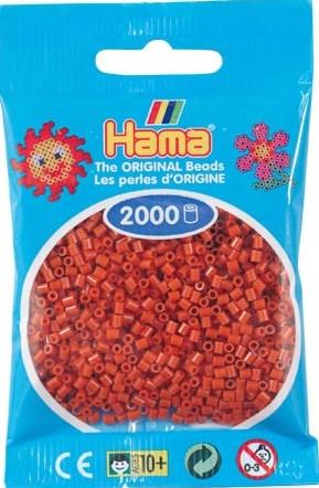 HAMA BEADS MINI 2000 MARRON ROJIZO (COLOR 20)