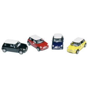 COCHE MINI COOPER METAL ESCALA 1:28