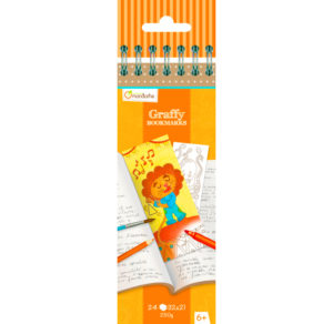 GRAFFY BOOKMARK MARCAPAGINAS ANIMALES