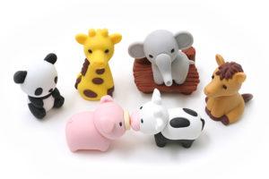 GOMAS BORRAR PUZZLE ANIMALES