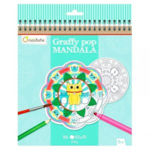 GRAFFY POP MANDALAS ANIMALES