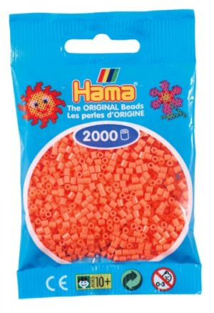 HAMA BEADS MINI 2000 ROJO PASTEL SALMON (COLOR 44)