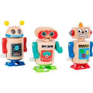 ROBOT MADERA A CUERDA