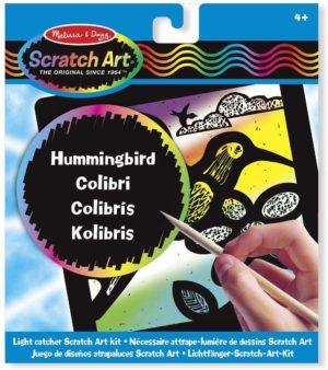 SCRATCH ART COLIBRI