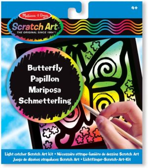 SCRATCH ART MARIPOSA