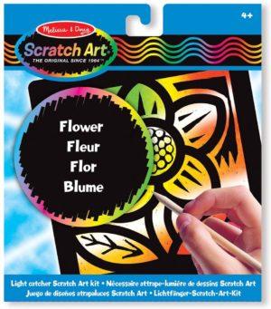 SCRATCH ART FLOR